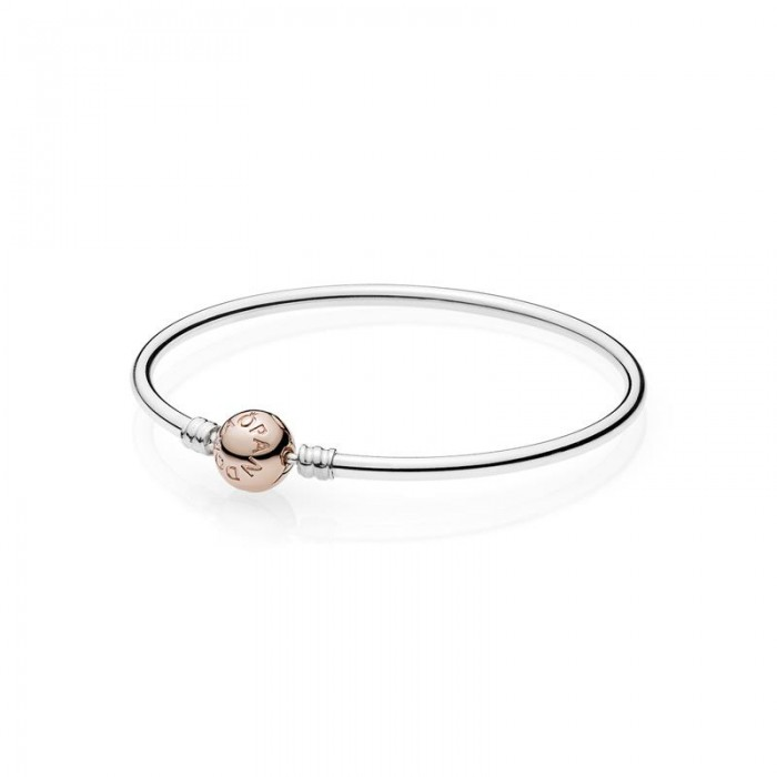 Pulsera PANDORA Moments rígida Rose.  580713