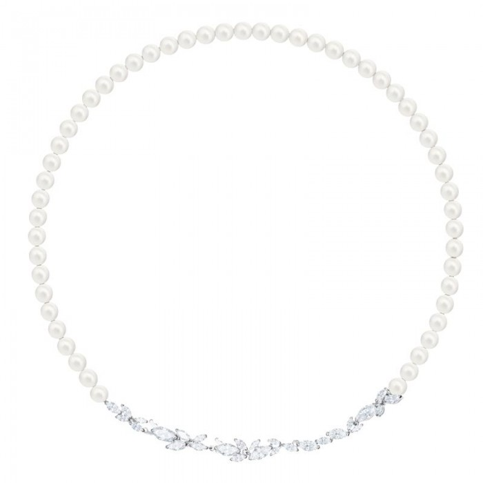 LOUISON PEARL:COLLAR CRY/CZWH/RHS
