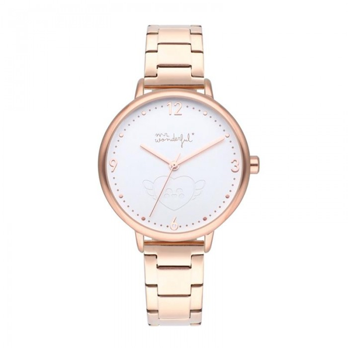 Reloj Mr. Wonderful Shine and Smile  Oro rosa BWR10000
